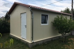 TP30 standard szimpla kisépület